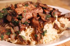 Vegetarian Beef Bourguignon Recipe