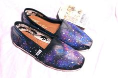 Toms outer space shoes