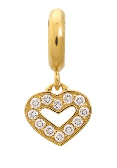 #charmoftheweek from the Jennifer Lopez Collection is this Dreamy Gold Heart charm.
