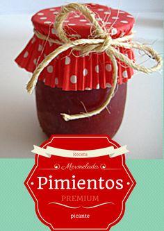 Como hacer mermelada casera de pimientos picante #mermelada #recetas #repostería http://www.sweetpepitas.es/2014/05/receta-mermelada-de-pimientos.html