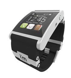 i'm Smart - The world's first real #smartwatch. It connects via Bluetooth and brings you calls, SMS, e-mails, notifications and any app directly to your wrist.