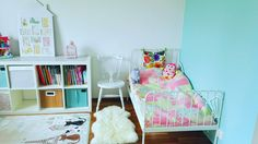 Candy colors girl's room