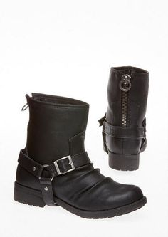 Groove North Moto Boot - only $54.90 at Delias #fall #boots