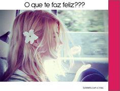 O que te faz feliz??? http://www.satisfeitacomavida.com.br/