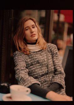Luc Coiffait Photographer and Director. Laetitia, Men Sweater, Turtle Neck, Officiel, Sweaters, Paris, Fashion, Moda, Montmartre Paris