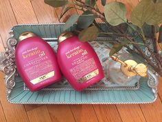 Loving the OGX Keratin oil range 💗 #beautyfinds #haircare