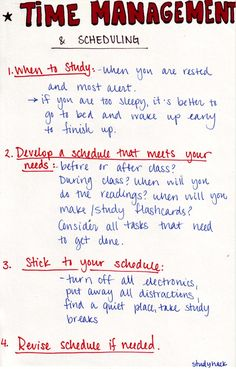 Tips for effective time management and scheduling. See source for more info! – Sabrina Laffoon Tips for effective time management and scheduling. See source for more info! Tips for effective time management and scheduling. See source for more info! High School Hacks, Life Hacks For School, School Study Tips, Study College, School Tips, College Board, Education College, Health Education, Physical Education