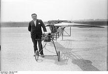 "Engelbert Zaschka (September 1, 1895 in Freiburg im Breisgau, Germany – June 26, 1955 in Freiburg im Breisgau, Germany)[1][2] was a German chief engineer,[3] chief designer and inventor.[4] Zaschka became one of the first German helicopter pioneers. His machine is a striking representative of the Rotationsflugzeug (Zaschka calls it ""rotating airplane"").[5] Chief Engineer Engelbert Zaschka pursued in 1929 in Berlin, the approach of the folding-Zaschka three-wheeler"