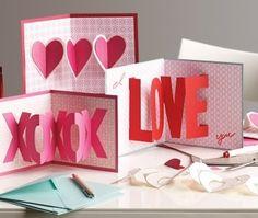 Carte de St Valentin DIY
