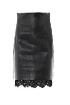 H&M Imitation leather skirt 129 LEI | Clothes | Pinterest | Lace ...