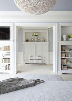 benjamin moore silver gray master bedroom | Silver Gray Paint Colors - Transitional - bedroom - Benjamin Moore ...