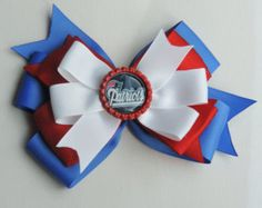 red white and blue 5 inch patriots bow $3.50