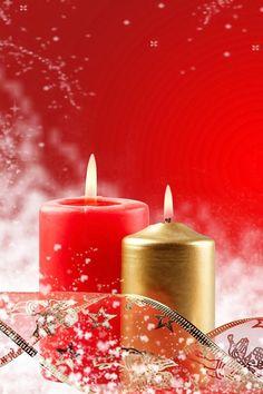 Christmas candles So PRETTY