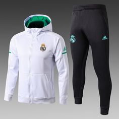 Real Madrid C.F. Football club ADIDAS 2017-18 Pre-Match Replica Pullover  TRAINING Zip Casual TOPS TRACKSUIT FÚTBOL CALCIO SOCCER FUSSBALL BNWT Men s  Jogging ... 967478a1b7676