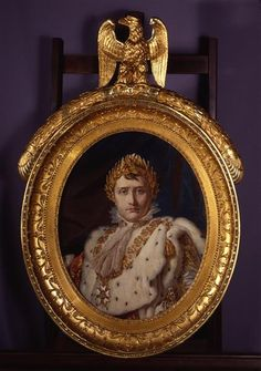 Portrait of Emperor Napoleon I in Coronation Robes    Ge'rard, Franc ¸ ois (template)  French, 1810
