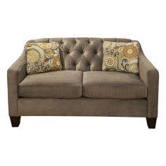 Norvell Loveseat in Marvis Mocha | Nebraska Furniture Mart