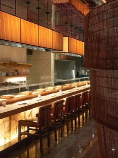 Contemporary Nobu Restaurant in Dubai Atlantis Resort on Palm Jumeirah