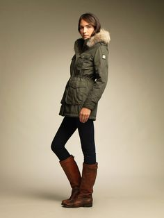 FOREST 1516 PARKA MUJER IMPERMEABLE