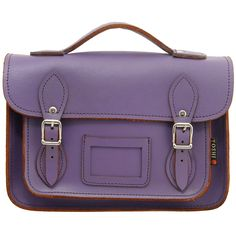 Yoshi Dewhurst Satchel / Small Leather Work Bag or Back to School bags by Yoshi Lichfield Autumn Winter 2012 AW12 - £55.00 available from www.kubi.co.uk