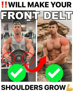 Killer Workouts, Gym Workout Tips, Dumbbell Workout, Workout Fitness, Fitness Motivation Pictures, Workout Motivation, Chest Workouts, Shoulder Workout, Muscle Fitness