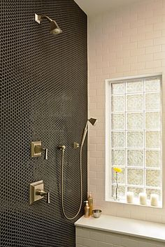 accessible showers aging in place bathroom remodeling. Black Bedroom Furniture Sets. Home Design Ideas