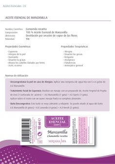 - Cuperosis - Alergias de la piel - Dermatitis - Disuelve la grasas - Mejora los cabellos dañados por tintes - Acné, eczem...