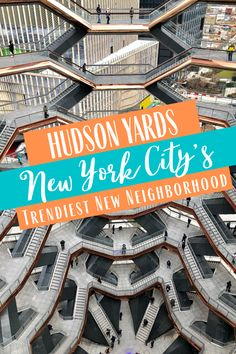 Hudson Yards is New York City's newest and  trendiest neighborhood- come see what Hudson Yards has to offer during your next trip to NYC!  #hudsonyards #nyc #newyorkcity #thebigapple #visitnyc #travel #familytravel #travelgram  #instatravel Usa Travel Guide, Travel Usa, Travel Guides, Travel Things, Places To Travel, Travel Destinations, Group Travel, Family Travel, Hudson Yards