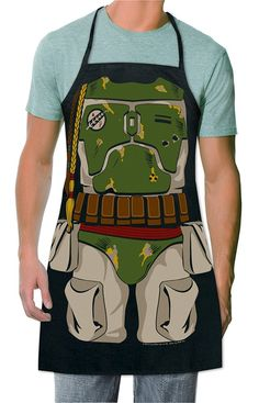 ICUP Star Wars Boba Fett Be The Character Apron
