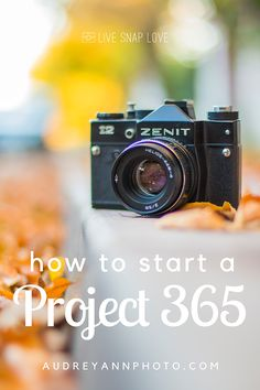 Are you thinking of starting a photography project 365 next year? Here are some things to think about before you start!
