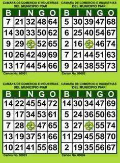 Cartones De Bingo Para Imprimir Pdf 2000 Cartones 500 H Bingo Cards Bingo Cards Printable Bingo Cards To Print