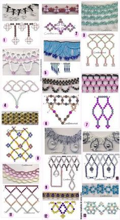 Seed bead jewelry Different chains of beads – two needle approach. ~ Seed Bead Tutorials Discovred by : Linda Linebaugh Different chains of beads - two needle approach. I think two needle approaches would do well to actually have a board to help hold th Seed Bead Tutorials, Seed Bead Patterns, Beaded Jewelry Patterns, Jewelry Making Tutorials, Bracelet Patterns, Free Beading Tutorials, Beading Patterns Free, Free Pattern, Bead Jewellery