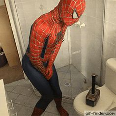 Spider-Man Pranked By Thor | Gif Finder – Find and Share funny animated gifs