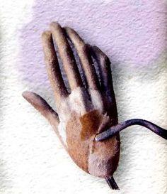 папье-маше-руки
