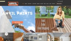 The new e-commerce site for Anvil Paints & Coatings