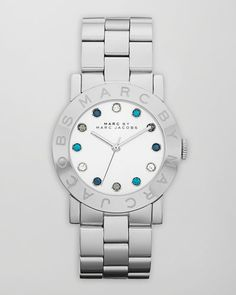 MARC BY MARC JACOBS  Amy Watch, Stainless Steel