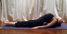 5 YOGA POSES TO RELIEVE BACK PAIN Fish Pose: Relieve stiffness in the neck, shoulders, and back. It's a great beginner pose and will help stretch out your spine too; plus it's the perfect antidote for a day spent hunched over a desk. Fitness Diet, Yoga Fitness, Fitness Motivation, Health Fitness, Namaste, Fish Pose, Relieve Back Pain, Heath And Fitness, Yoga Moves