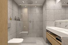 łazienka  - prysznic bez brodzika