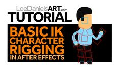 Tutorial | After Effects | Basic IK Character Rigging