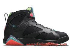 check out 558a7 567f2 Air Jordan 7 Retro Chaussures Jordan Officiel Pas Cher Pour Homme Barcelona  Nights 705350-007