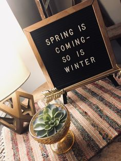 Spring Is Coming, Lettering, Winter, Pictures, Winter Time, Photos, Photo Illustration, Drawing Letters, Letters