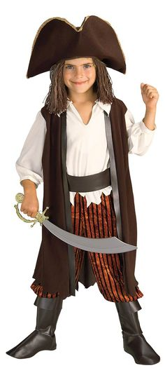 Toddler and Kids Caribbean Pirate Costume - Pirate Costumes