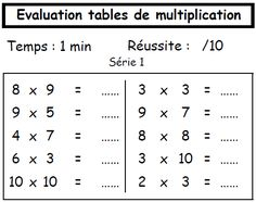 Ecole on pinterest multiplication french lessons and fle - Matou matheux table de multiplication ...