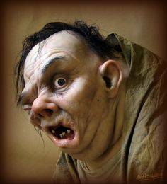 Quasimodo character (fictional character in the novel The Hunchback of Notre-Dame,1831, by Victor Hugo) by *Kaduflyer.
