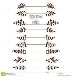 decoracion de margenes para hojas vintage - Google Search