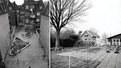 Aldo Van Eyck's playgraunds in Amsterdam from:the architecture of early childhood