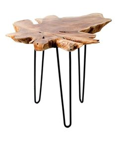 Loving this Teak Root Accent Table on #zulily! #zulilyfinds