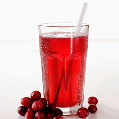 Cold cranberry or cherry juice is nice refreshment during hot summer days and it also helps against gout.