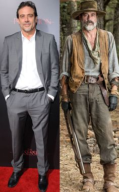 Jeffrey Dean Morgan, Before And After, Weight