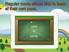 Super Sight Words - A fun learning game for children in kinder, first, and second grades that will help your child learn their Dolch list and encourage reading fluency and comprehension. Includes special font for children with Dyslexia. screenshot