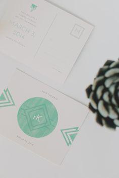 tribal print invite from the new Makr invite app!